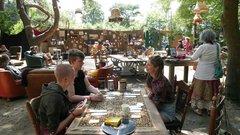 Wakker worden in Café de Guanaco